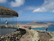View at Mirador del Rio, Lanzarote. Photo by Nick Haslam