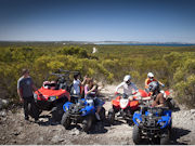 Quad biking Kangaroo Island, South Australia. Photo by South Australia Tourist Board