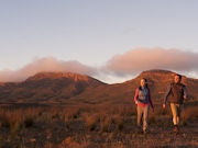 Hiking at Wilpena Pound, South Australia. Photo by South Australia Tourist Board