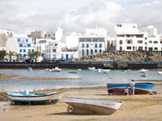 Boats at Arrecife, Lanzarote. Photo by Nick Haslam