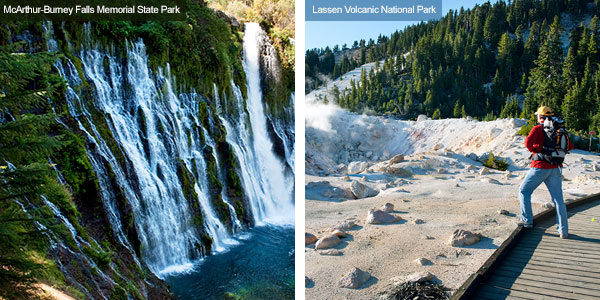 McArthur-Burney Falls and Lassen Vilcanic National Park