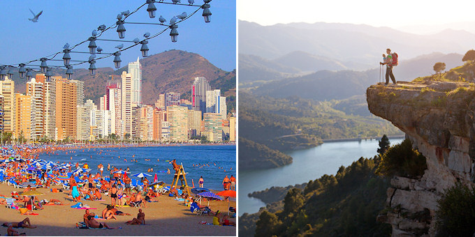 Benidorm vs. the real Spain