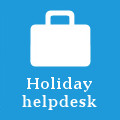 Holiday helpdesk