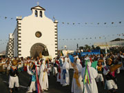 Romería de Los Dolores, Mancha Blanca. Photo by Lanzarote Tourist Board