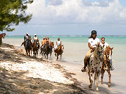 Horse riding, Cayman Islands. Photo by Cayman Islands Tourist Board