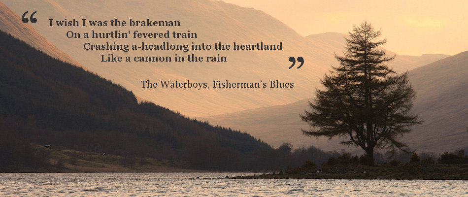 Lyrics from The Waterboys, Fisherman's Blues