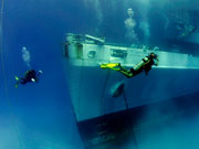Diving with the Kittiwake, Cayman Islands. Photo by Cayman Islands Tourist Board