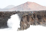 Los Hervideros, Lanzarote. Photo by Nick Haslam