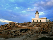 Lighthouse Cap de Cavalleria, Menorca. Photo by Menorca Tourist Board