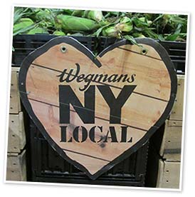Wegmans supermarket, New York State. Photo by Catherine Mack