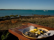 Oysters, Broome in Western Australia. Photo by Nick Haslam