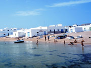 Beach at Pueblo, La Graciosa in Lanzarote. Photo by Lanzarote Tourist Board