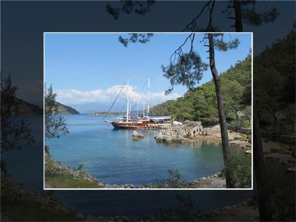 Gulet cruise and walking vacation in Turkey