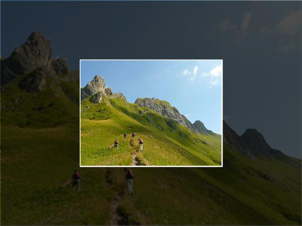 French Alps guided walking vacations