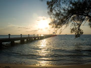 Rum Point Sunset, Cayman Islands. Photo by Cayman Islands Tourist Board