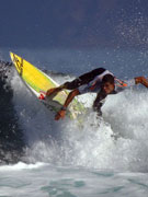 Surfer in Lanzarote. Photo by Lanzarote Tourist Board