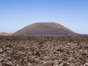 Volcano, Timanfaya National Park, Lanzarote. Photo by Lanzarote Tourist Board